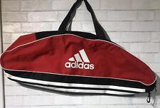 Black & Red Adidas Baseball Bat Equipment Duffle Bag