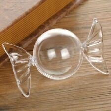 Plastic Ball Candy Shaped Clear Ornament Transparent 24 Pcs/Lot Home Decorations
