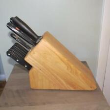 Wusthof Gourmet Solingen Germany 11 Piece Knife Cutlery Set w/ Storage Block
