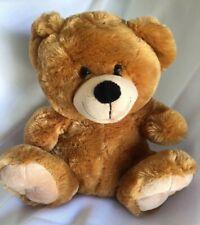 Dan Dee Light Brown Tan Teddy Bear Plush Stuffed Animal 13 Inches Tall