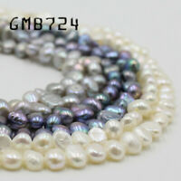 3-5mm Natural Irregular White Freshwater Pearl Loose Beads for Jewelry Making