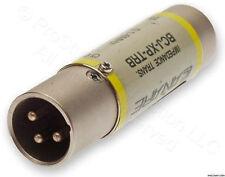 4 X Canare BCJ-XP-TRB BNC-F In to XLR-M Out digital Audio Impedance Transformer
