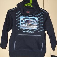 Ecko Unltd Rhino Brand Navy Blue Size 3T Pullover Hoodie Holiday Sweatshirt NEW