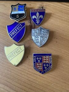 Vintage School Badges