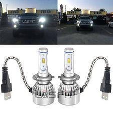 H7 LASFIT LED Headlight Bulbs High or Low Beam Conversion Kit 6000K White Light