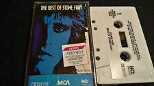 STONE FURY The Best Of *RARE MC TAPE*