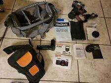 Pentax Super Program 35mm Film Camera 2 Lense Accessories Case Bag Manual Mint