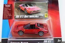 Hot Wheels 1:64 ferrari Racer 308 GTS Quattrovalvole (magnum) nuevo + embalaje original, MIB