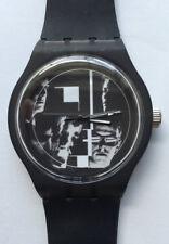 Bauhaus vinyl  - Retro 80s designer watch