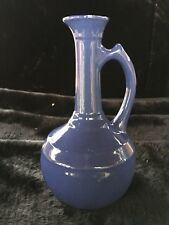 Hard to Find Mid-Century Monterey Pottery Ice Blue Pottery Ewer - Orig. Label