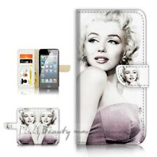 ( For iPhone 7 Plus ) Wallet Case Cover P21616 Marilyn Monroe