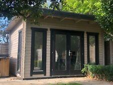 More details for garden office, garden room, gym, studio, log cabinw4.2m x d3.2m
