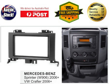 Fascia facia Mercedes Benz Sprinter W906 2006+ Double Two 2 DIN Dash Kit