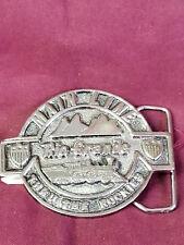 Denver Rio Grande Train Railroad Belt Buckle By DEZY