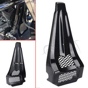 Gloss Black Stretched Chin Spoiler Scoop For Harley Road Glide FLTRX FLTRU 09-13