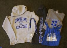 Ursuline College Cleveland Sweatsuit Hoodie Pants Shirt size SMALL womens child