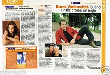 Coupure de Presse Clipping 1998 (1 page 1/3) Bruno Wolkowitch
