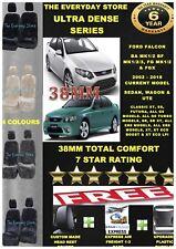 Ultra Dense Sheepskin Car Seat Covers Ford Falcon BA/BF/FG 02-18 Pr AbagSafe38MM