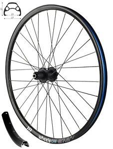 650b 27.5 inch wheelsON Rear Wheel MTB Disc 8/9/10 Spd Cassette QR 32H Black