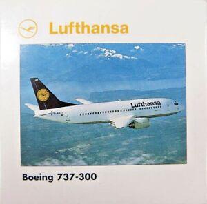 "HERPA WINGS 1:500 SCALE DIECAST "" LUFTHANSA BOEING 737-300 "" 515900"