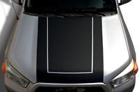 Custom Vinyl Graphics Decal Hood Wrap Kit for Toyota 4Runner 2010-17 BLACKOUT v2