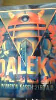 Doctor Who - Daleks Invasion Earth: 2150 A. D. Blu-Ray Caja Metálica Dr - Rare