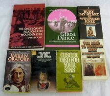 The Ghost Dance Ethnohistory Revitalization Massacres Wounded Knee Book Lot of 7