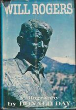 Will Rogers A Biography 1962 Donald Day  Photos