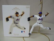 Hallmark Ornament 2009 JOHAN SANTANA NEW At the Ballpark Series #14 Baseball