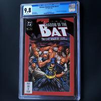 BATMAN SHADOW OF THE BAT #1 💥 CGC 9.8 💥 1ST APP JEREMIAH ARKHAM & VICTOR ZSASZ