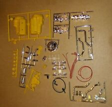 1//8 Scale Resin Pontiac Engine 2 Transmissions w// Shift Covers for Flat Head