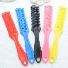Hair Cutting Comb Hair Brushes with Razor Blades Cutting Thinning Trimmin Salon