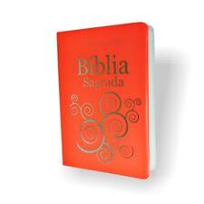 Biblia Sagrada Portugues NTLH Compacta Letra Maior Portuguese Bible Laranja