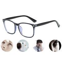 Blue Light Filter Block Anti-UV Glasses Large Frame Computer Eyewear Glasses