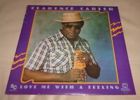 Love Me With a Feeling by Clarence Carter (Vinyl LP, 1982 USA Sealed)