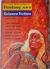 MAGAZINE OF FANTASY & SCIENCE FICTION  1961 AUGUST