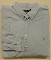 Polo Ralph Lauren Pony Button Down Long Sleeves Classic Fit Oxford Dress Shirt