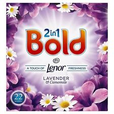 Bold 2-in-1 Lavender and Camomile Washing Powder Cleaning Detergent - 22 Washes