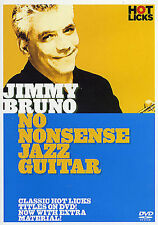 Jimmy Bruno No Nonsense Jazz Guitar TUITION DVD Lesson TUTOR SONGS LEARN