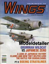 Wings Magazine Oct.98 Grumman Wildcat vs Japanese Zero