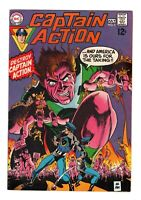 CAPTAIN ACTION 5 ( VF+) GIL KANE, WALLY WOOD (FREE SHIPPING)*