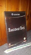 RESIDENT EVIL 1 REBIRTH NUOVO e SIGILLATO TRIANGOLINO BLU GAMECUBE GAME CUBE/WII
