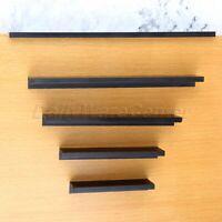 Black Cabinet Hidden Handle Modern Kitchen Cupboard Drawer Invisible Pull Knob