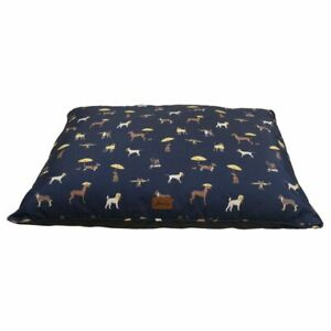 Joules Let Sleeping Dogs Lie Mattress Its Raining Dogs Print Large 100x80cm