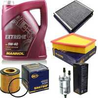Inspektionspaket 5L MANNOL Extreme 5W-40 Motoröl + SCT Filter KIT 10755347