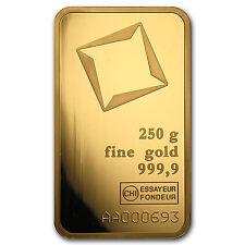 250 gram Gold Bar - Secondary Market - SKU #88945