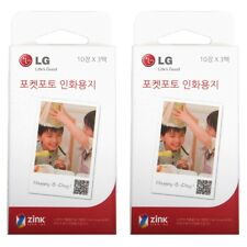 Inkless ZINK Paper PS2203 For LG Pocket Photo PD221 PD239 PD251 PD269 60 SHEETS