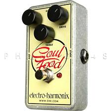 Electro-Harmonix Soul Food Transparent Overdrive/Distortion Guitar Effects Pedal
