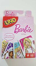 UNO Barbie Card Game - Kartenspiel - englisch - NEU - offiziel lizenziert