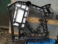 MERCEDES GL X166 AMG REAR BUMPER BRACKET LEFT 2012 TO 2015